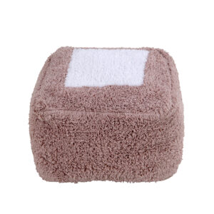 Lorena Canals – pouffe Marshmallow Square – Vintage Nude