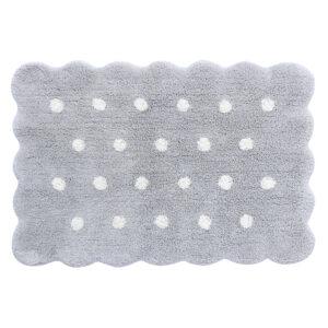 Lorena Canals – Mini Biscuit Pearl Grey – 70 x 100 cm